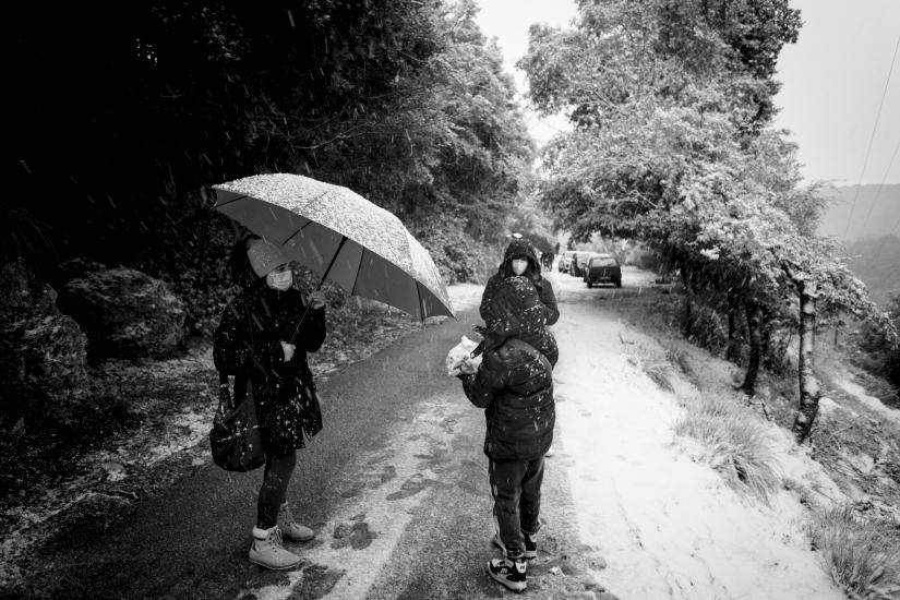 Nevicata sugli Aurunci