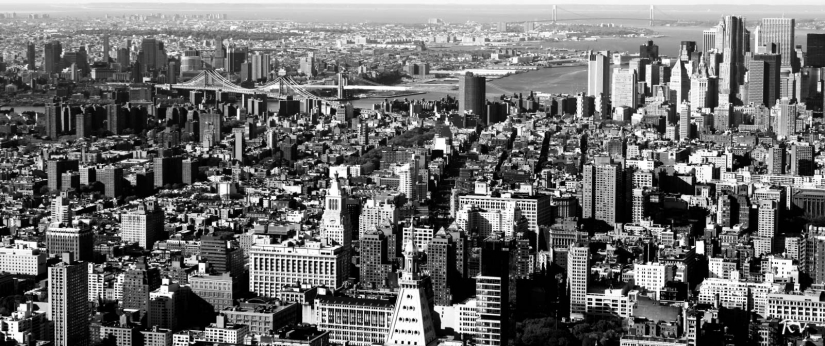 New York - City View from Empire State Building