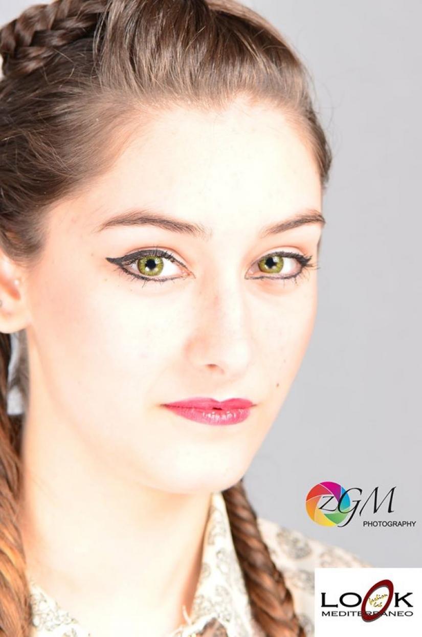 Nicoletta's eyes