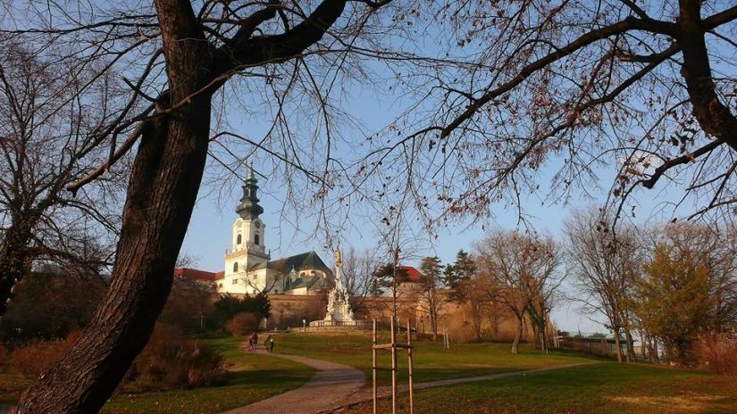 Nitra (Slovacchia) - Vista del castello