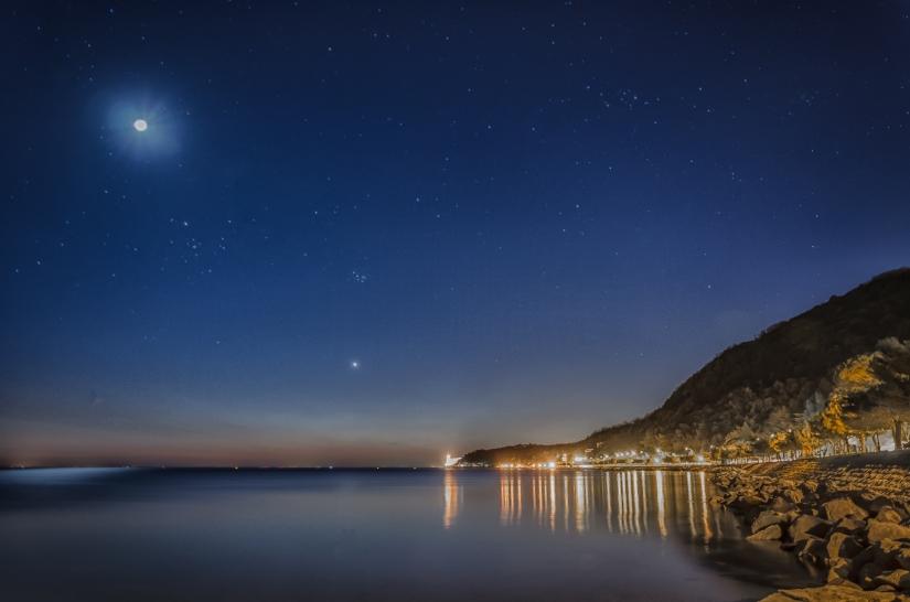 Notte al chiar di luna