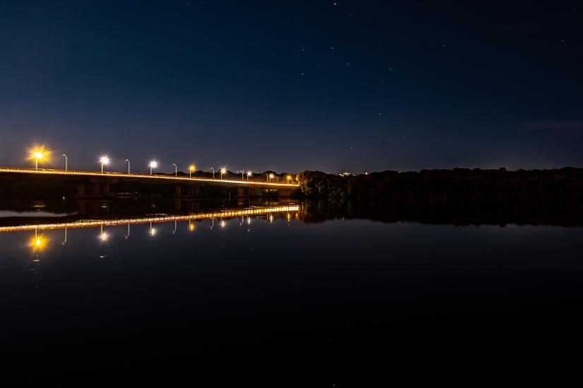 Notturno del Ponte di Sabaudia