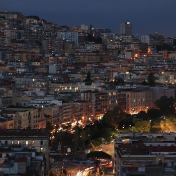 Notturno su Napoli