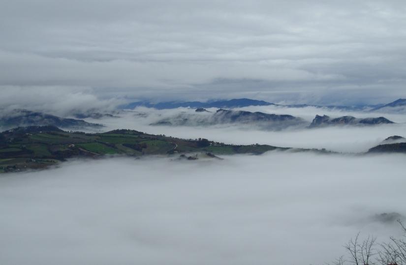 Nuvole a San Marino