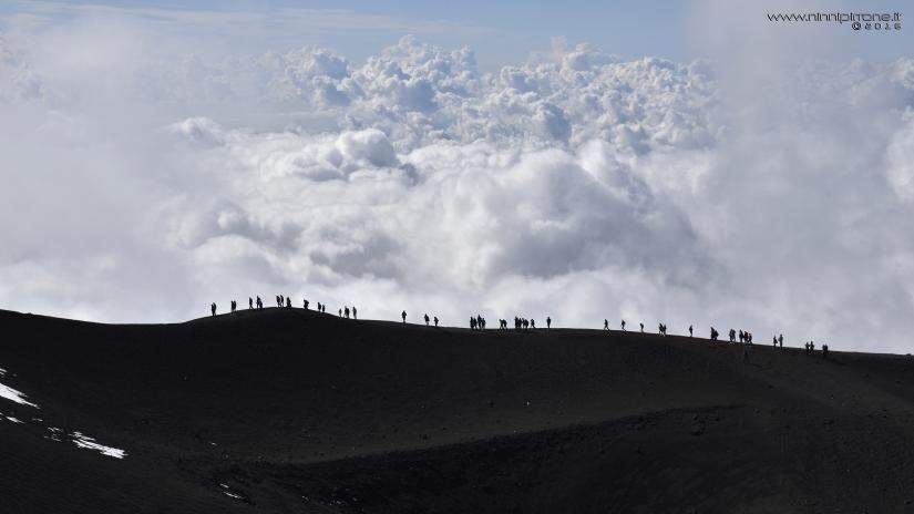 Nuvole dell'Etna