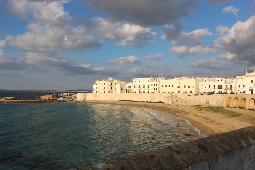 Nuvole sul mare di Gallipoli