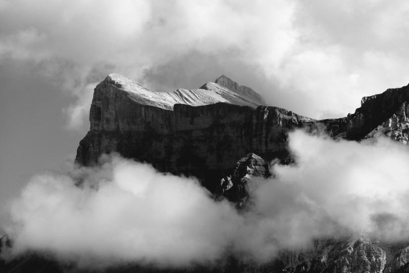 Nuvole sulle Dolomiti