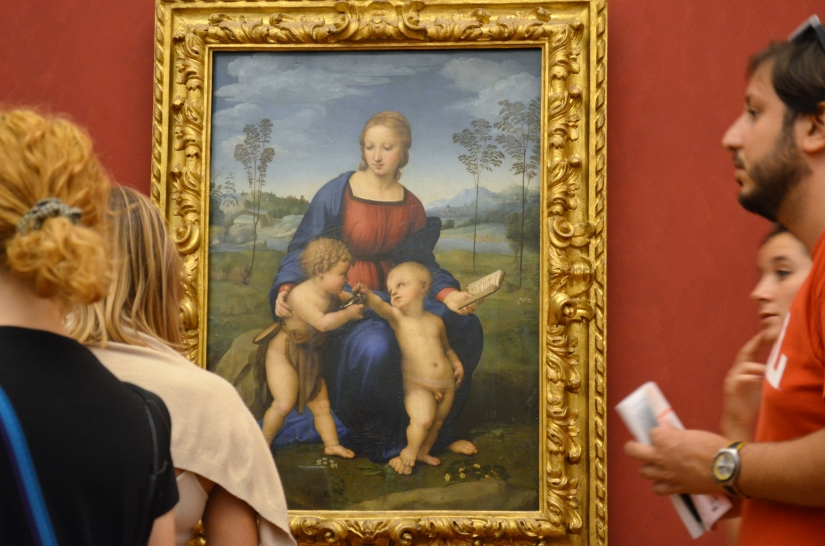 OPERA D'ARTE AL MUSEO