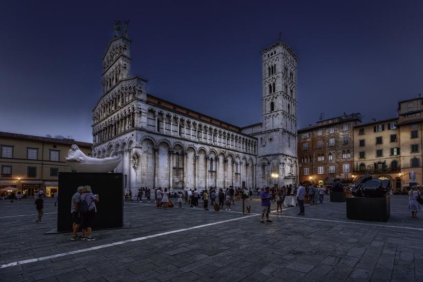 Opere d'arte per le vie di Lucca