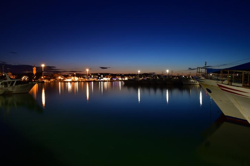 Ora blu al porto