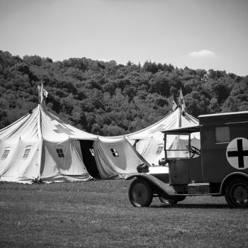 Ospedale da campo militare della prima guerra mondiale