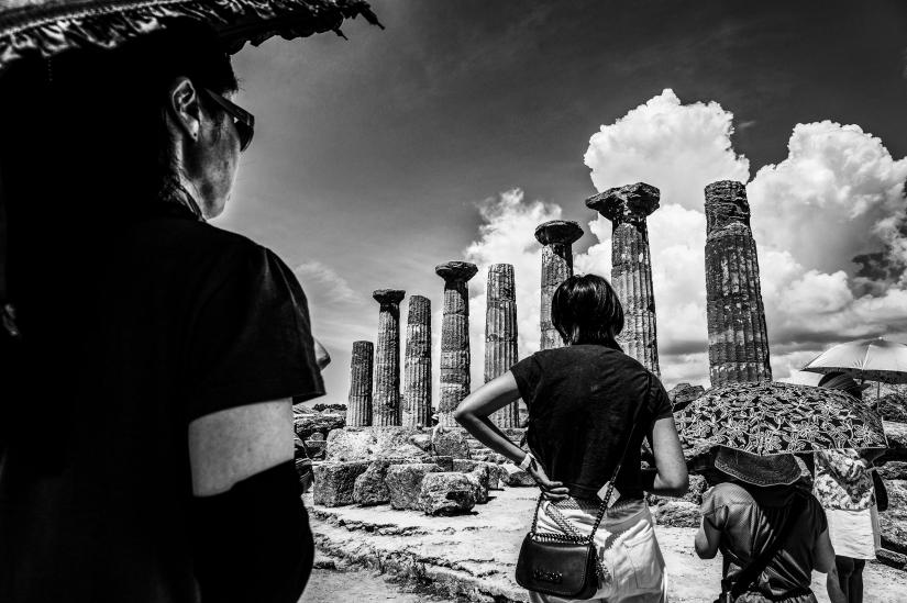 Osservando i templi