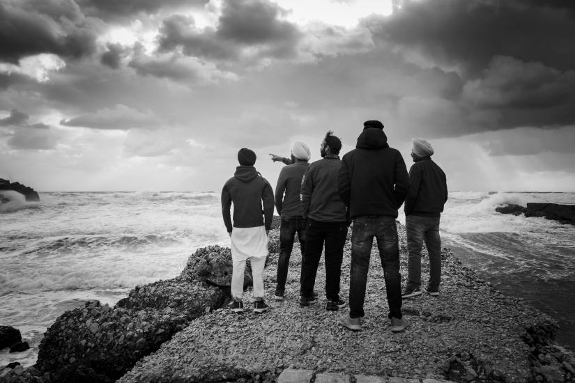 Osservando la potenza del mare