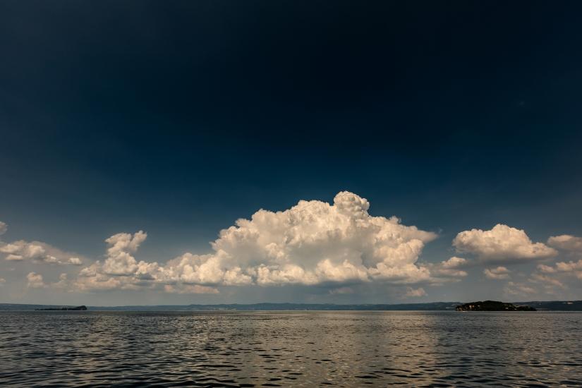 Pace su lago di Bolsena