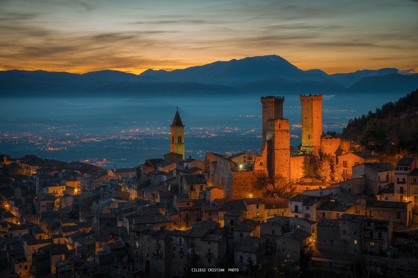 Pacentro...quando l'Abruzzo indossa l'abito da sera