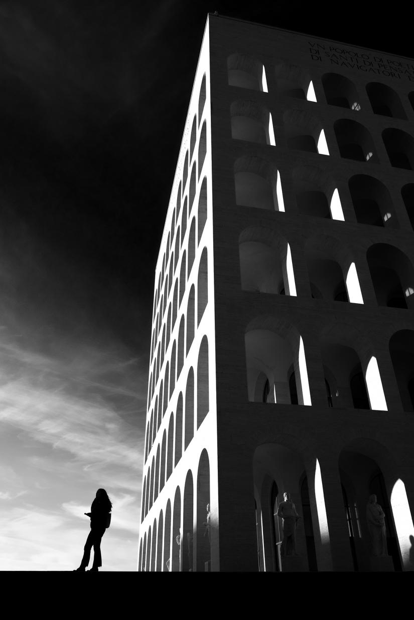 Palazzo delle Civiltà metafisico