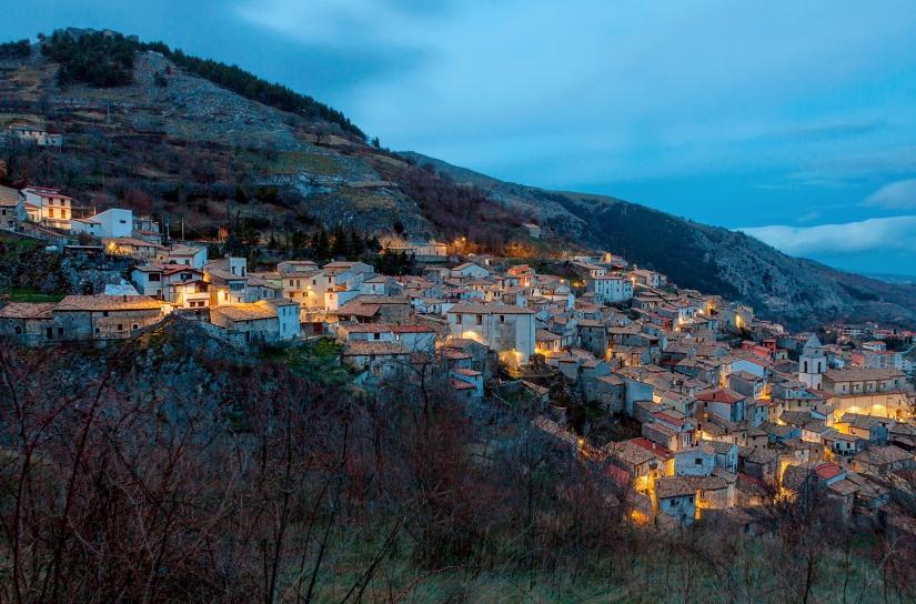 Panorama di Roccamandolfi