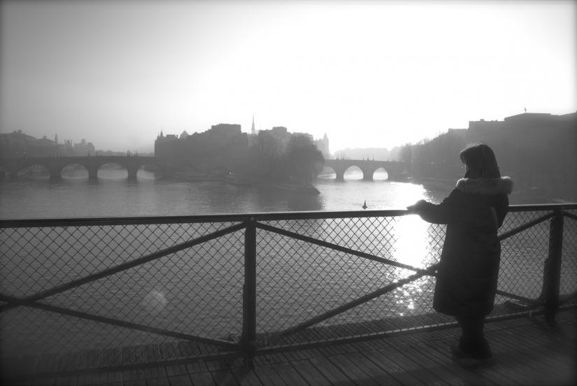 Parigi-Pont des arts