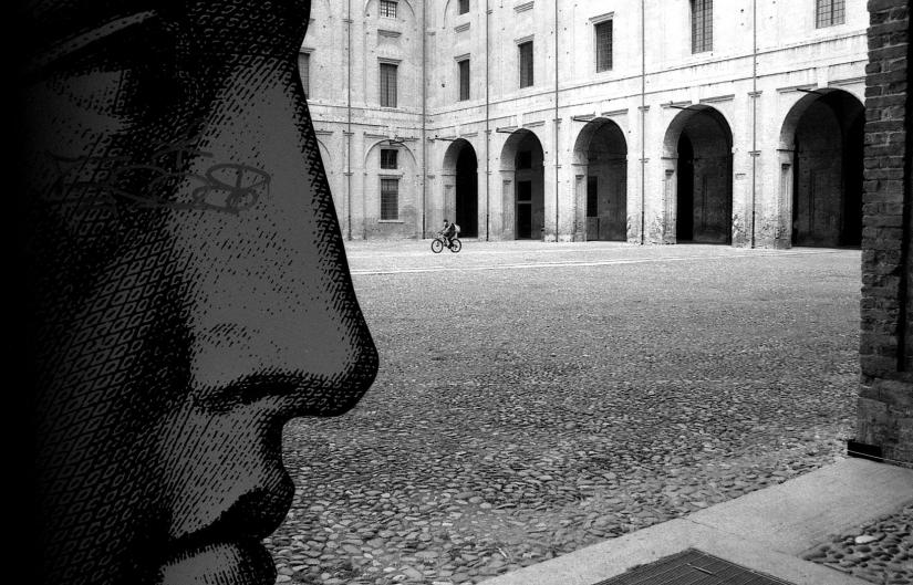 Parma, piazzale della Pilotta