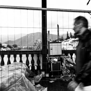 Passaggio sul ponte di Bassano
