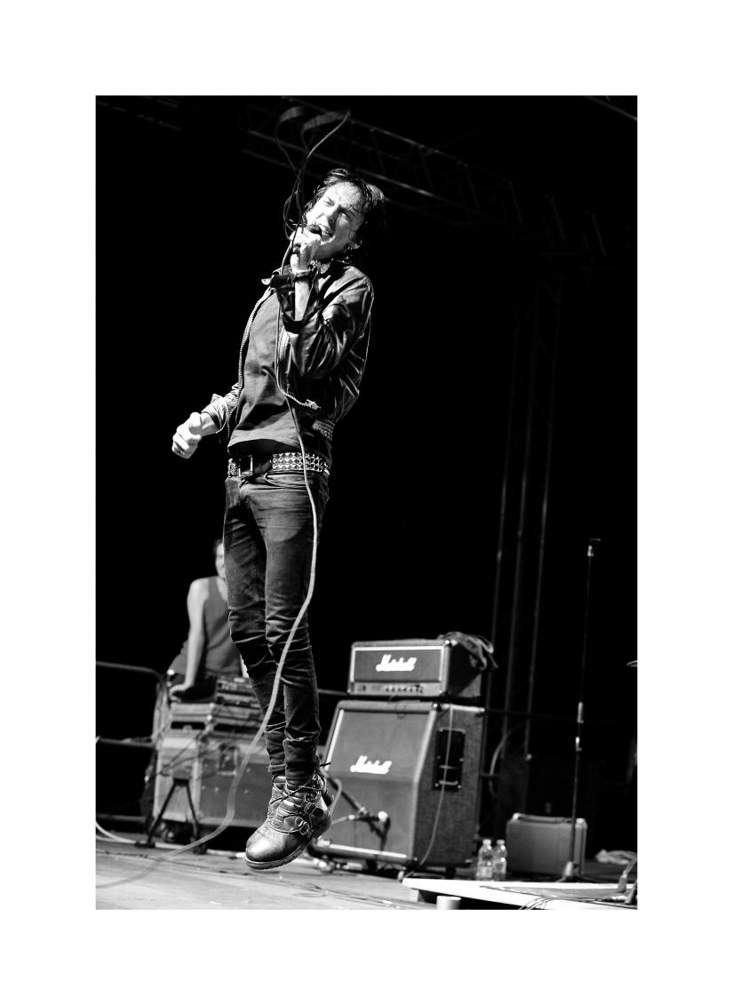 Pela- Marky Ramone's Blitzkrieg singer
