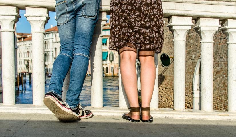 Per camminare a Venezia ci vogliono scarpe comode!