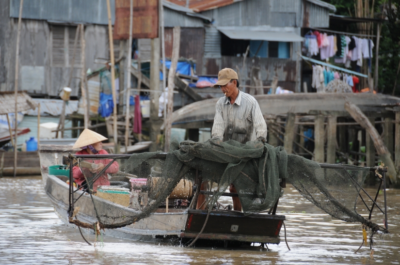 Pesca sul mekong
