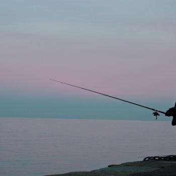 pescando l'alba