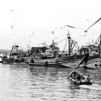 Pescatori sull' Atlantico
