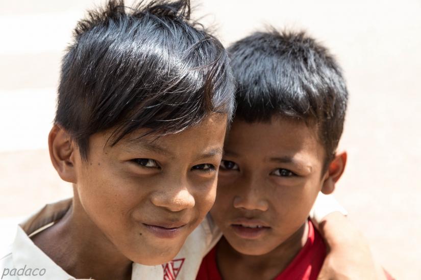 Piccoli amici cambogiani