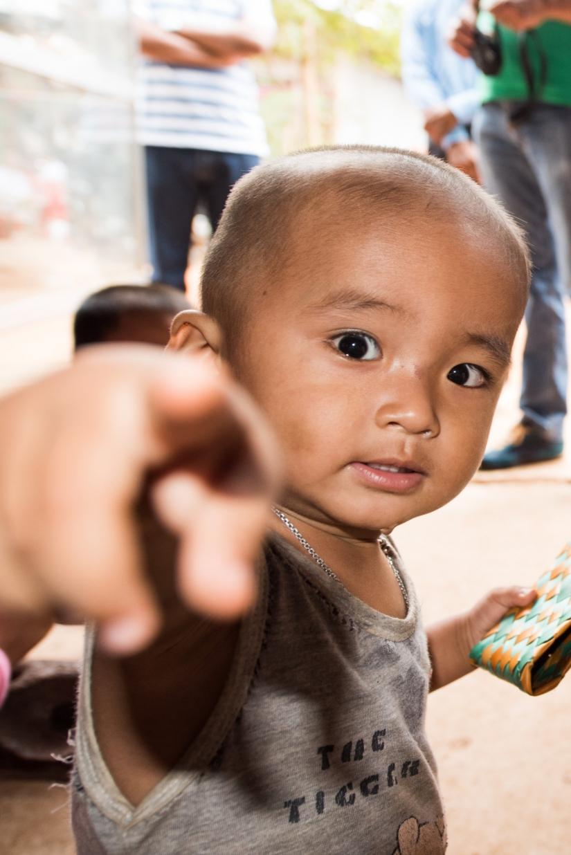 Piccolo Cambogiano curioso