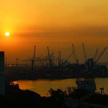 Porto de Santos, Brasil