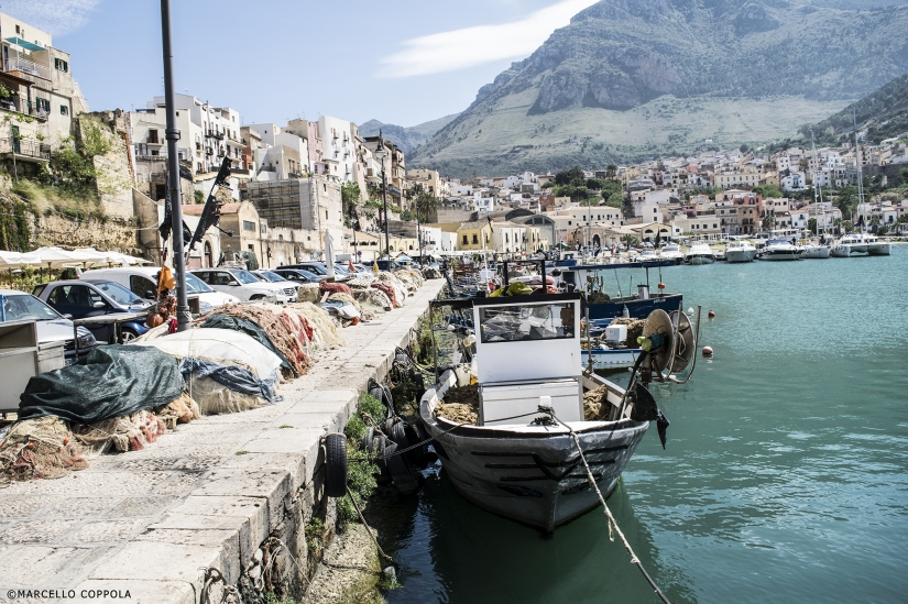 Porto peschereccio, Castellamare del Golfo.