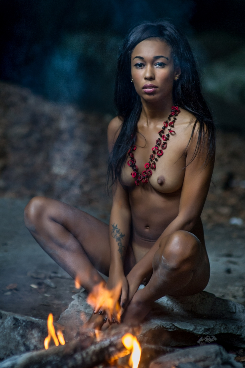 Primitive woman