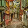 Quartiere popolare a Istanbul