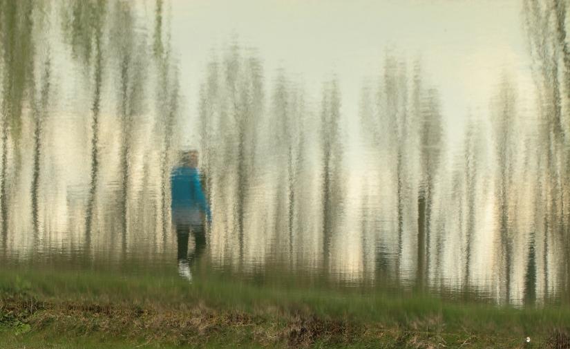 Reflected walker