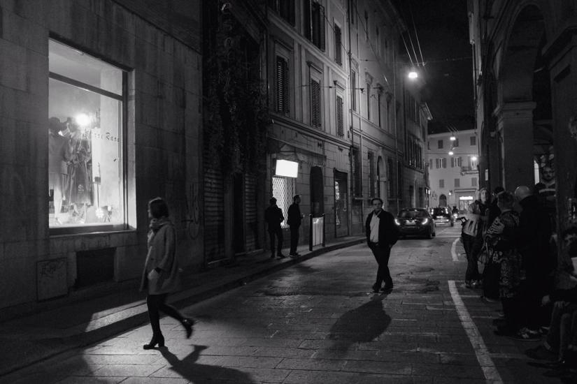Reportage of a night in Bologna