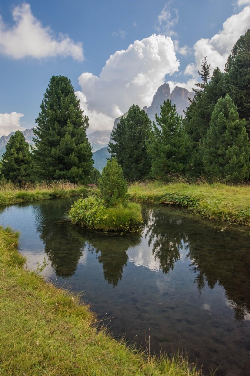 Riflessi sulle Dolomiti