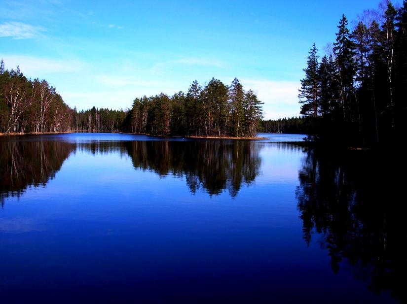 Riflessioni. Nuuksio National Park, Finland