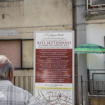Riti Settennali in onore dell'Assunta - Guardia Sanframondi, Benevento - Italy