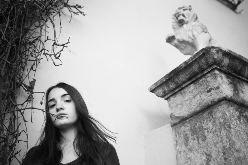 Ritratto con leone