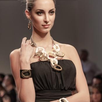 Ritratto mezzobusto alla Torino Fashion Week