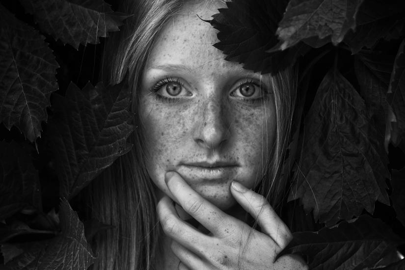 Ritratto Vanessa Bianco e nero