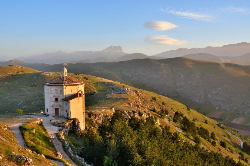 Rocca Calascio, la chiesetta