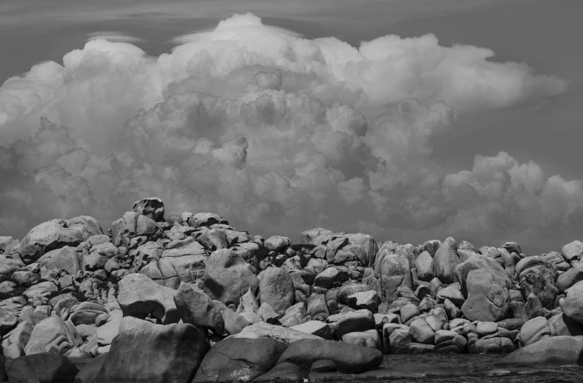 Rocce e nuvole