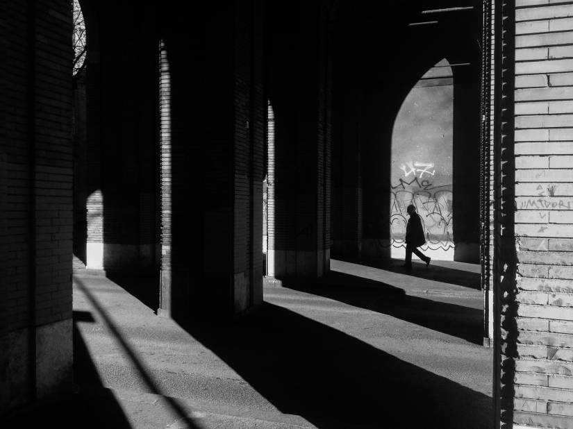 Roma, just shadows