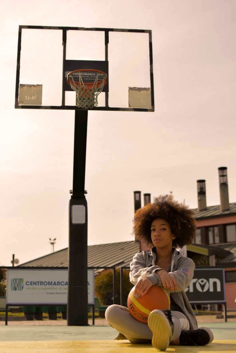 Rosa e il basket