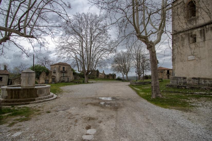 Roscigno, la Piazza