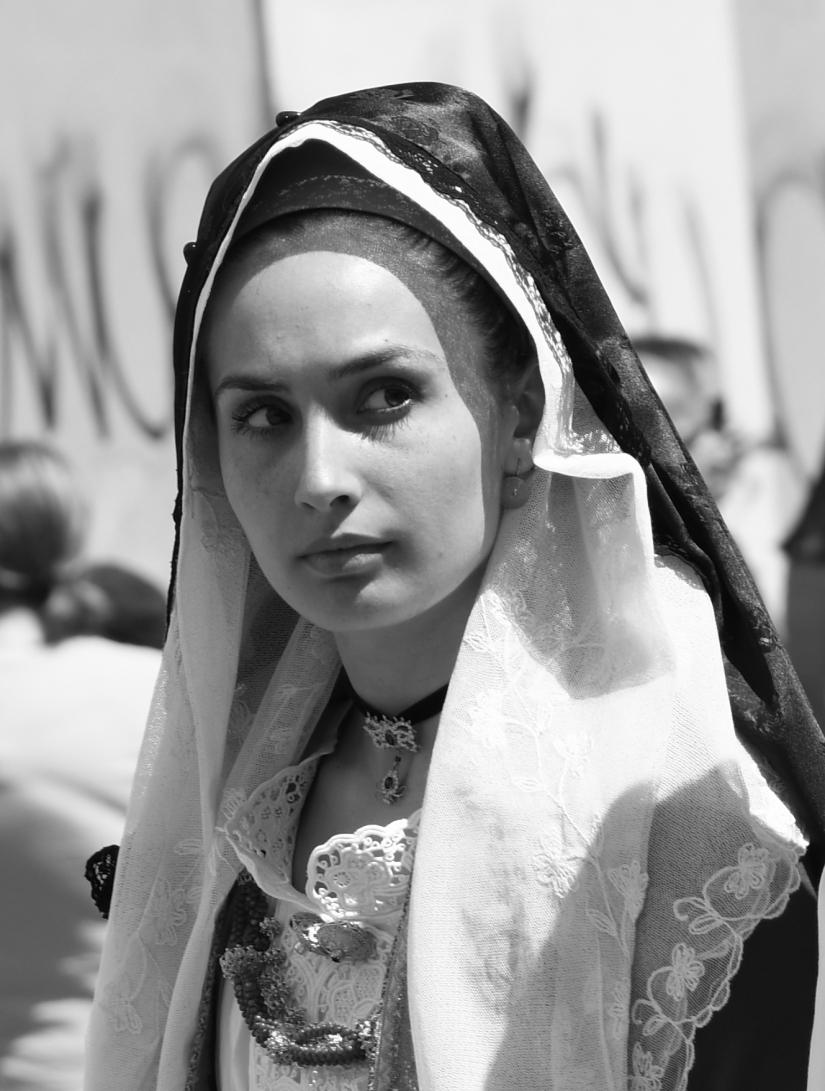 Sagra di Sant'Efisio - Cagliari 01/05/2019 - Magia del Bianco-nero