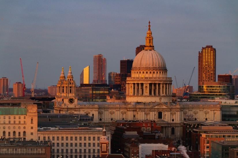 Saint Paul al tramonto